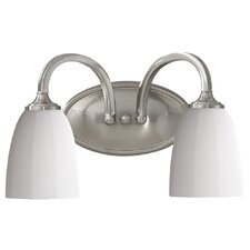 Perry 2 Light Bath Vanity Light
