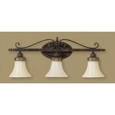 Drawing Room 3 Light Wall Sconce