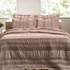 Tiana Ruched Quilt Set
