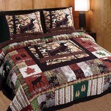 Whitetail Lodge 3 Piece Quilt Set