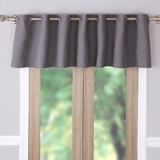 Vashon Quilted Window Curtain Valance