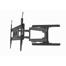 "Double Arm Tilt / Swivel Wall Mount for 65"" Flat Panel Screens"
