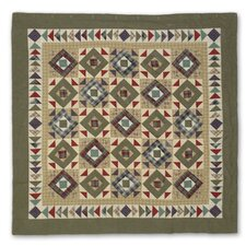 Square Diamond Cotton Shower Curtain