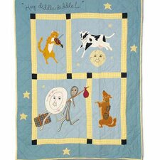 Hey Diddle Diddle Crib Quilt
