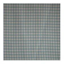 Blue Sky and White Gingham Checks Bed Skirt / Dust Ruffle