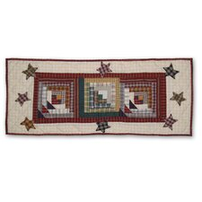 Woodland Star And Geese Table Runner