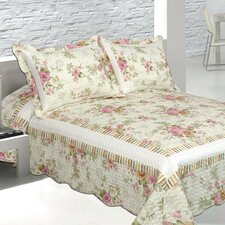 Pretty Vista 3 Piece Quilt Set