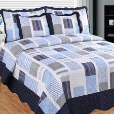 Miles and Miles 3 Piece Quilt Set