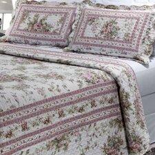 Primrose Garden 3 Piece Quilt Set