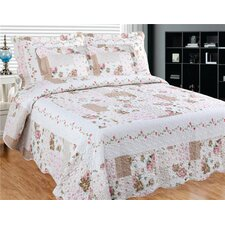 Camellia Main 3 Piece Quilt Set