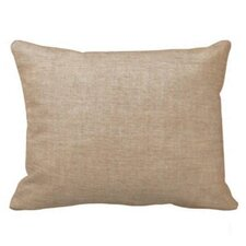 Brown Light / Golden Chambray Pillow Sham