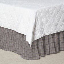 Plaid Fabric Dust Ruffle