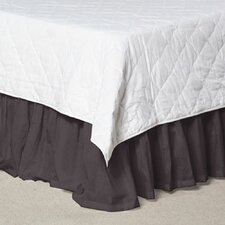Solid Fabric Dust Ruffle
