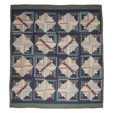 Wild Goose Log Cabin Luxury Quilt