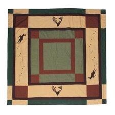 Deer Trail Cotton Shower Curtain