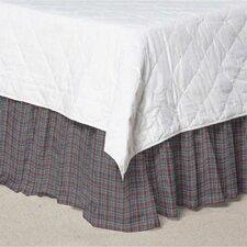 Plaid Cotton Bed Skirt