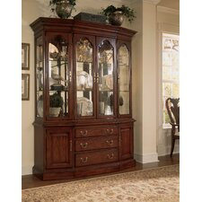 Cherry Grove Canted China Cabinet Base