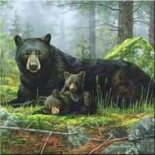 Tuftop Black Bears Trivet