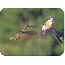 Tuftop Hummingbird and Columbine Cutting Board