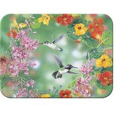 Tuftop Hummingbirds Cutting Board
