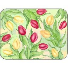 Tuftop Tulips Cutting Board