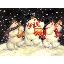 Small Snowman Trio