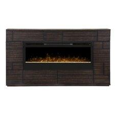 Markus Media Console Electric Fireplace