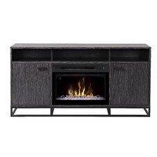 Reily TV Stand with Electric Fireplace