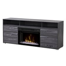 Sander TV Stand with Electric Fireplace