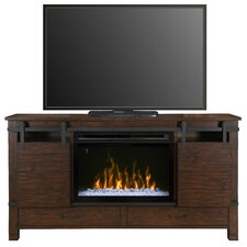Austin TV Stand with Electric Fireplace