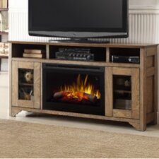 Walker Media Console Electric Fireplace