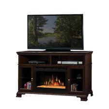 Brookings TV Stand with Electric Fireplace