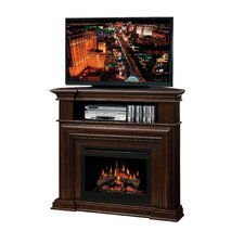 Montgomery TV Stand with Electric Fireplace