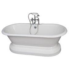 "67"" x 23.25"" Soaking Bathtub Kit"