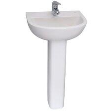 "32.34"" Pedestal Lavatory Sink"