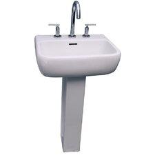"""Metropolitan 420 33.89"""" Pedestal Lavatory Sink"""