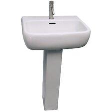 """Metropolitan 520 33.89"""" Pedestal Lavatory Sink"""