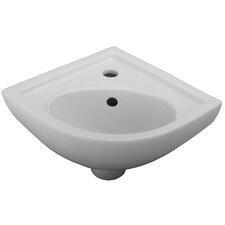 """17.38"""" Wall Hung Bathroom Sink"""