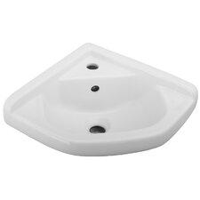 """19.88"""" Wall Hung Basin Bathroom Sink"""