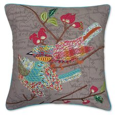 Pretty Twin Accent Cotton Throw Pillow
