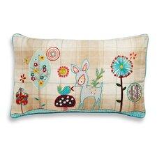 Baby Deer Accent Indoor/Outdoor Throw Pillow
