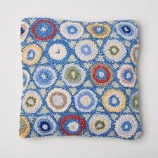 Coin Wool/Cotton Throw Pillow