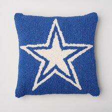 Star Decorative Wool Throw Pillow