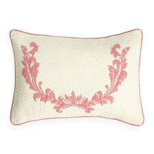 Damask Cotton Lumbar Pillow