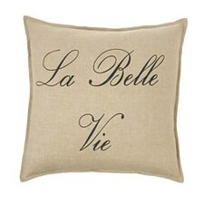 La Bella Vie Linen Throw Pillow