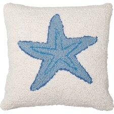 Starfish Wool Throw Pillow