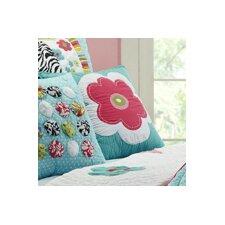 Abby/Jane Flower Decorative Cotton Throw Pillow