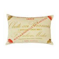 Chateau Branaire Cotton Lumbar Pillow
