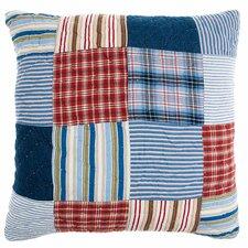 Hampton Cotton Throw Pillow