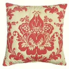 Damask Cotton Throw Pillow